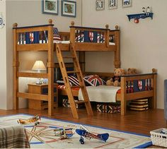 Cheap children bed, Buy Quality child wooden bed directly from China bed child Suppliers: Children Beds Children Furniture two layer oak solid wood children beds with ladder & cabinet&lockers 2017 whole sale good price