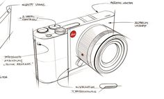 Leica T - Product Sketch [2]