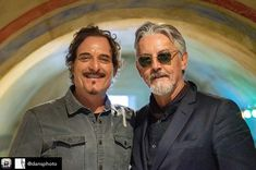 Kim Coates and Tommy Flanagan are photographed by Dan Burgess at the 2019 today, May in Manchester, UK 📸 . Kim Coates, Tommy Flanagan, Sons Of Anarchy, Pretty People, Dan, Tv Shows, Actors, Manchester Uk, Movies
