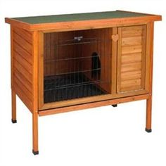 Amazon.com: Ware Manufacturing Premium Plus Hutch, Medium: Pet Supplies