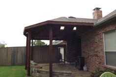 Carrollton Texas Patio Cover Photos   C3 Backyard Oasis LLC
