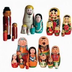 Who remembers the Nestling Doll collection!  It introduced diversity  to families across the globe while giving children the option to practice their sorting, sequencing, and counting skills.  80s toy