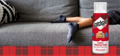 How to use Scotchgard™ Fabric & Upholstery Protector