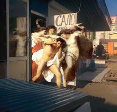 Quand la peinture classique continue de s'inviter dans notre monde moderne (image)