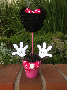 Minnie Mouse Centerpiece Minnie Mouse Party by MyCraftySides
