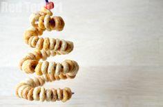 Christmas Tree - Bird Feeder Craft for Kids