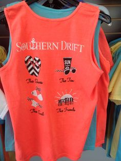 Hey, I found this really awesome Etsy listing at https://www.etsy.com/listing/181767858/southern-drift-comfort-color-tank-beach