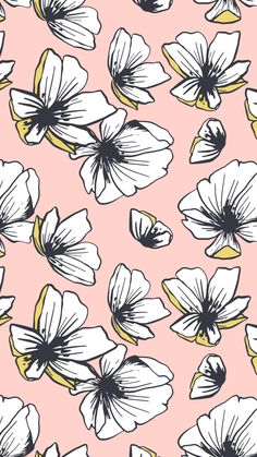 New Wallpaper Iphone Quotes Inspiration Floral Ideas New Wallpaper Iphone, Plant Wallpaper, Flower Wallpaper, Pattern Wallpaper, Wall Wallpaper, Fashion Wallpaper, Trendy Wallpaper, Cute Wallpapers, Floral Wallpapers