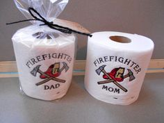 Embroidered Toilet Paper Custom Toilet Paper by PikePoleProducts