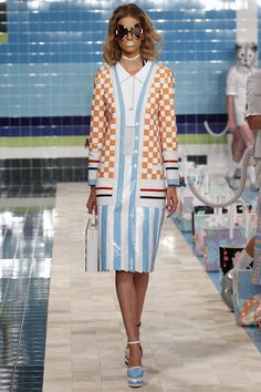 View the complete Thom Browne Spring 2017 collection from New York Fashion Week.