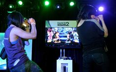 The Kinect controller (built into Xbox) allows players to use physical gestures to control games.