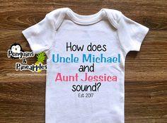 Uncle & Aunt pregnancy announcement - Brother pregnancy announcement…