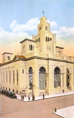 The Gesu Church Is A Historic Roman Catholic In Miami Florida It