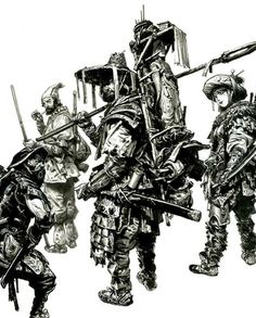 "3,020 Me gusta, 21 comentarios - Kim Jung Gi US (@kimjunggius) en Instagram: ""Outlaws #kimjunggi #drawing #illustration #sketch #2013 #sketchbook #illustrator"""