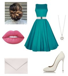 """dress 3"" by dileyprenses2 on Polyvore featuring moda, Dsquared2, Verali ve Lime Crime"