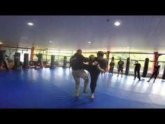 Krav Maga defense against strike and kick attacks by Michael Rüppel - YouTube