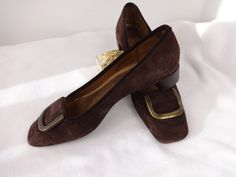 Talbot shoes Brown suede Kitten heel Size 7  by MyRockinHeart