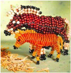 Horses Bead