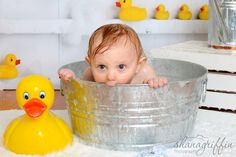 Shana Griffin Photography- First Birthday rubber ducky bath. Bath Photography, Cake Smash Photography, Children Photography, Photography Ideas, Birthday Cake Smash, First Birthday Cakes, First Birthday Pictures, Milk Bath, Bubble Bath