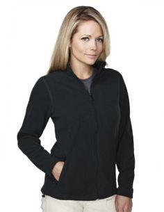 Tri-mountain Womens 100% polyester brushed back fleece jacket. 7815 - BLACK/BLACK_3XL Tri-Mountain. $45.38
