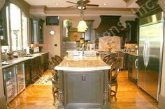 Gourmet Kitchens | Home Plans, House Plan, Architectural Designs