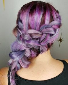 15 Must Have Dark Purple Hair Colour Ideas published in TopTeny magazine Lifestyle - %%excerpt%% Looking for fresh rocking colour ideas? You should give some thought to these exciting dark purple hair shade ideas. Trendy Hairstyles, Braided Hairstyles, Hairdos, Updos, 4 Braids Hairstyle, Hairstyle Ideas, Hair Ideas, Dark Purple Hair Color, Hair Colour