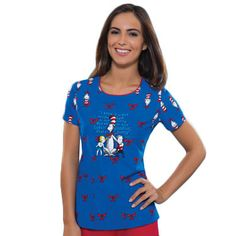 Who doesn't love The Cat in the Hat? This pediatric print is fun for the kids - or anyone. #CatInTheHat
