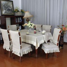 Photo- Photo Ideas Hand Made Hand Made Creativity - Dining Room Chair Covers, Dining Table Chairs, Furniture Covers, Outdoor Furniture Sets, Home Crafts, Diy Home Decor, Balcony Chairs, Slipcovers For Chairs, Chair Cushions