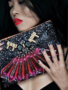 Mawi Jeweled Clutch