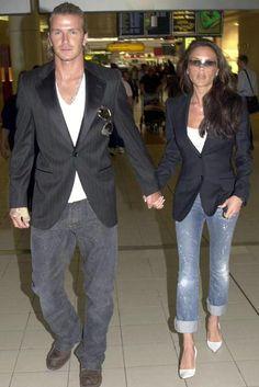 David & Victoria Beckham 10 year Anniversary - Celebrity - Marie Claire
