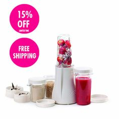 Tribest Personal Blender & Grinder - the ultimate smoothie making machine! Also perfect for grinding nuts, and making soups, salsa, dips, baby food and more! http://www.nourishedlife.com.au/juicers-blenders/20178/tribest-personal-blender-grinder.html