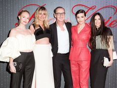 Kate Bosworth, Demi Moore y Camilla Belle se van de fiesta con estos lookazos para homenajear la hebilla de Roger Vivier