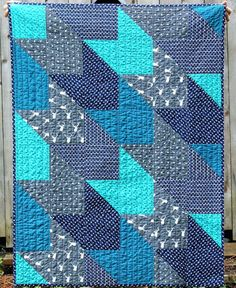 Patchwork Quilts For Beginners Quilts Metrotown Quilt Shops Nz Handmade Baby Toddler Boy Quilt Deer And Arrow Navy Blue Grey