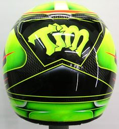 Arai Helmet Design for Karting #190 ~ Hand Painted Helmets - Design your helmet today..!!