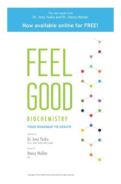 Feel Good Biochemistry is now available.
