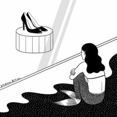 Henn Kim, Art Sketches, Henna, Photo And Video, Illustration, Videos, Instagram, Sketches, Psicologia