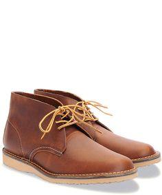 Weekender Chukka Boot in Copper
