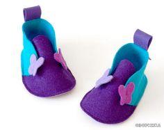 сандалии для малышей идеи поделок из фетра