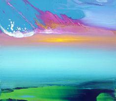 "Saatchi+Online+Artist+Jacob+Jugashvili;+Painting,+""Forgotten+Waters+X""+#art"