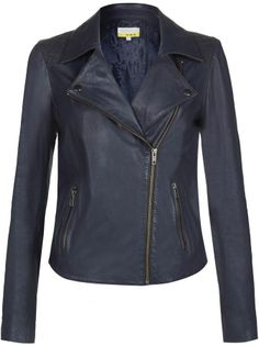 NW3 by Hobbs Hobbs Maritime Leather Jacket on shopstyle.co.uk