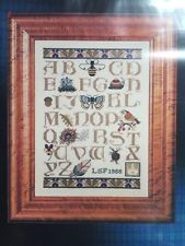 A Walk in the Woods Alphabet The Cricket Collection Cross Stitch Pattern