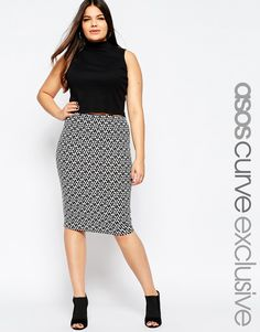 82abc35d3 49 Best plus size midi skirt tips images in 2018 | Fashion clothes ...