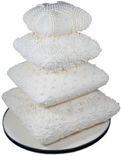 African Wedding Cake Pillow Designs   Egyptian Pillows Wedding Cake