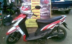 11 Best Modifikasi Motor Mio Sporty Simple Images Sporty