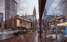 """Grand Central Window"" - Robert Neffson - Bernarducci Meisel Gallery"