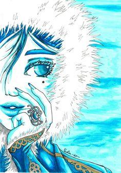Winter Queen by helera on deviantART