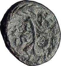 MARCIAN Monogram Wreath 450AD Constantinople Authentic Ancient Roman Coin i65062