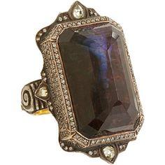 Sevan Bicakci Diamond & Tourmaline Peacock Ring at Barneys.com
