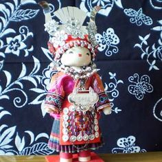 handmade traditional dolls-Miao Ethnic Group by lucyfhh, via Flickr iRANIAN DOLL