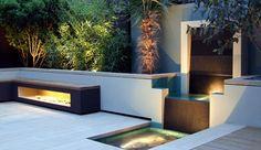 Urban Garden, Granite Water Feature  Fountain  MyLandscapes LTD  London, UK